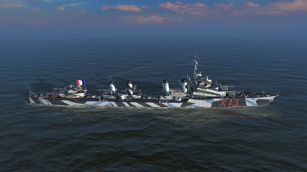 Aigle - world of warships blit...